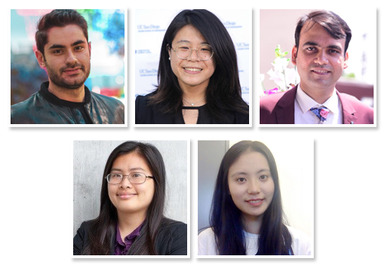 Five Engineering Graduate Students Win UCI Inclusive Excellence Ambassador Fellowships