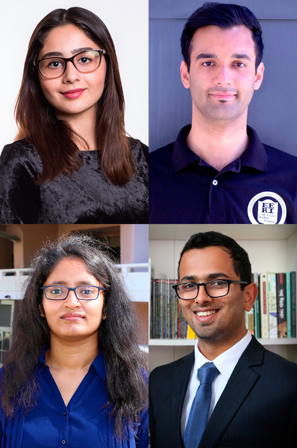 Graduate Students Win Engineering Dissertation Fellowships