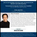 """Jennifer Nash, Duke University — """"Intersectional Iconography: Promise, Peril, Possibility"""""""